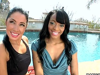 Sweet Jesus ... I really think u people are gonna love this weeks Assparade update. We brought in Monica Santhiago and Eve Madison for a rail session. My allies those two large booties get the shit railed out of 'em. I must say those gals are super fuckin fine as u can watch from the pics. Not solely are they fine but they can fuck and engulf dick like fucking winners! If u don't watch this update your a fucking idiot!