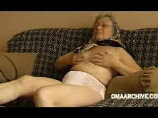 Granny sofa disrobe