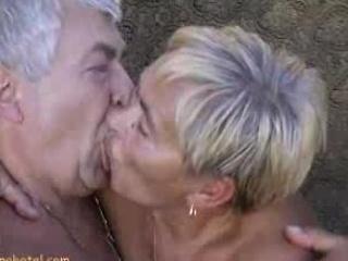 Granny engulfing dongs