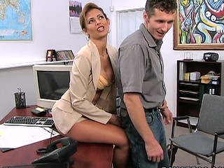 A paradigmatic MilfLessons update from 2004. Monique is our most excellent Mother I'd Like To Fuck we've ever had the chance working with and watching her fuck youthful studs. Tall, sexy Latin Chick with a body of a goddess. Each youthful studs wet-dream. Come and watch this Latin Mother I'd Like To Fuck work that butt. We love u Monique!